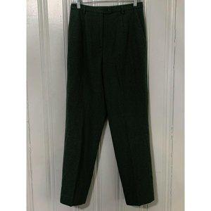 Pendleton Green Wool Straight Leg Trouser Pants 8